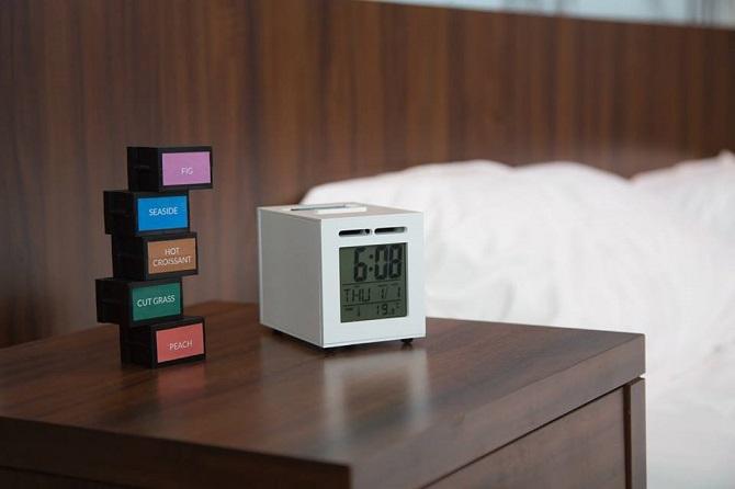 SensorWake vás probudí prostřednictvím vůně.