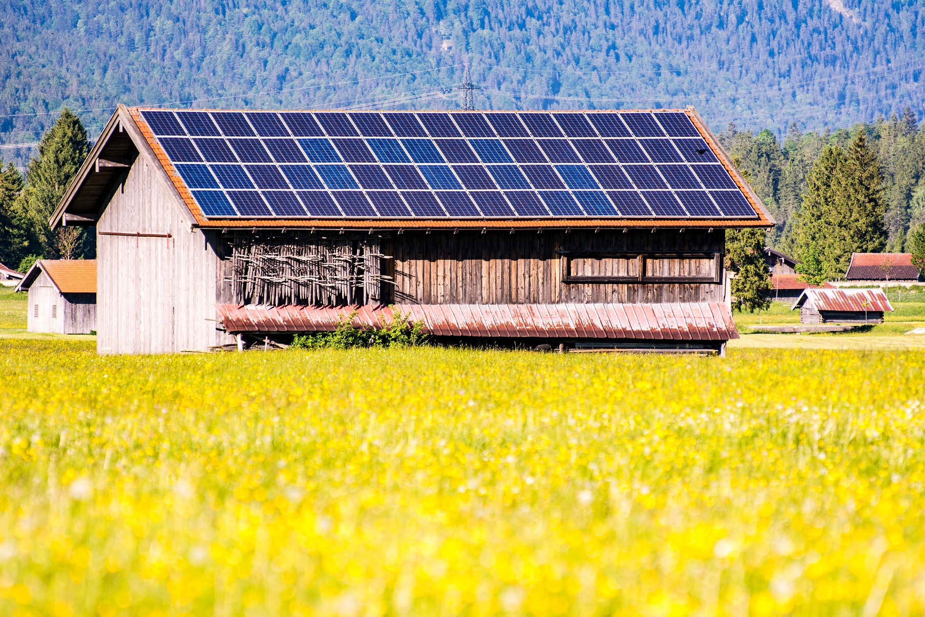 Solár na střeše
