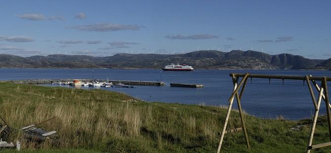Takto bude vypadat norská krajina s větrnými turbínami.