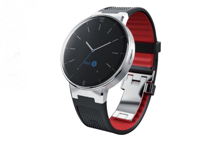 Chytré hodinky ALCATEL se vyznačují elegantním vzhledem.