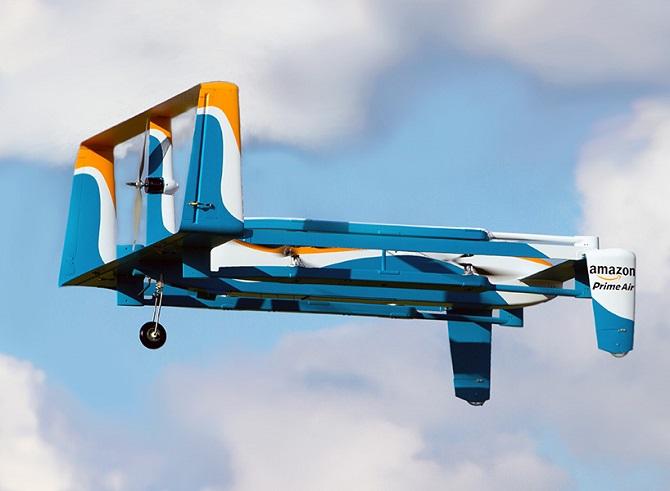 Doručovací dron společnosti Amazon.