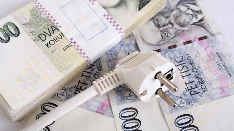 Peníze za elektřinu
