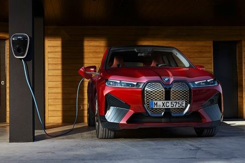 Plně elektrické BMW iX