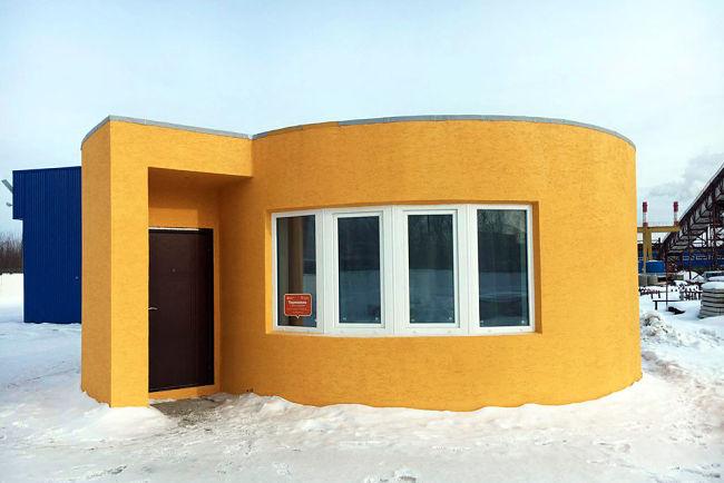 První vzorový dům, kterým se Apis Core zapsala do povědomí veřejnosti.
