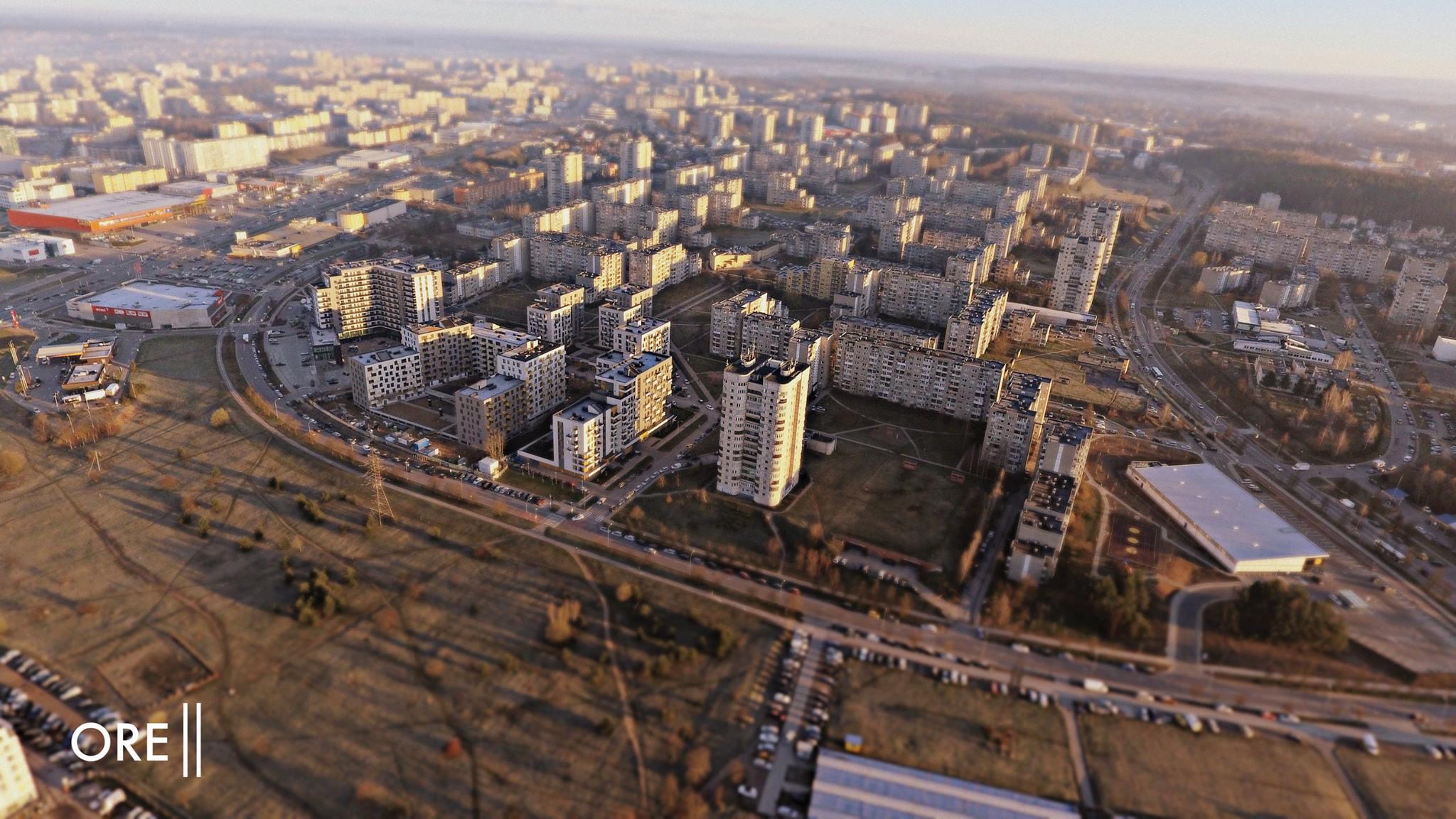 Fabijoniškės - čtvrť, kde se natáčel seriál Černobyl