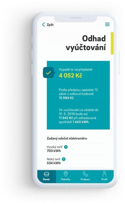 Mobilní aplikace Energie24