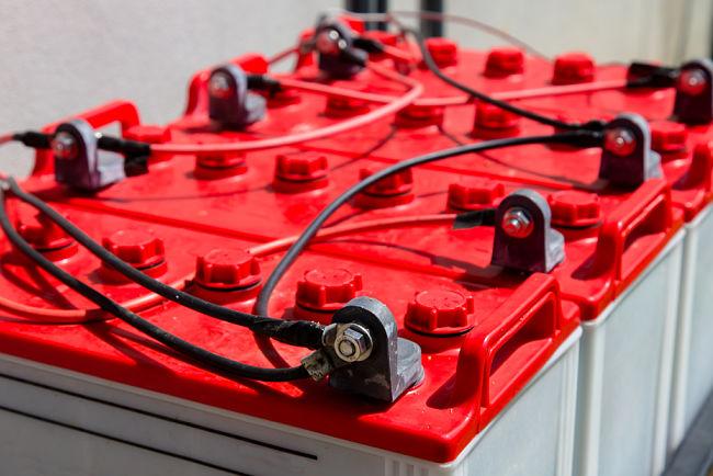Baterie umožňují čerpat energii kdykoliv, kdy se to hodí.