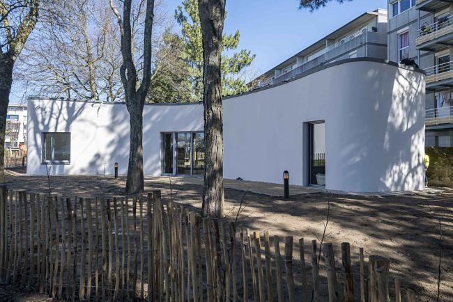 Rodinný dům v Nantes postaven technologií 3D tisku.
