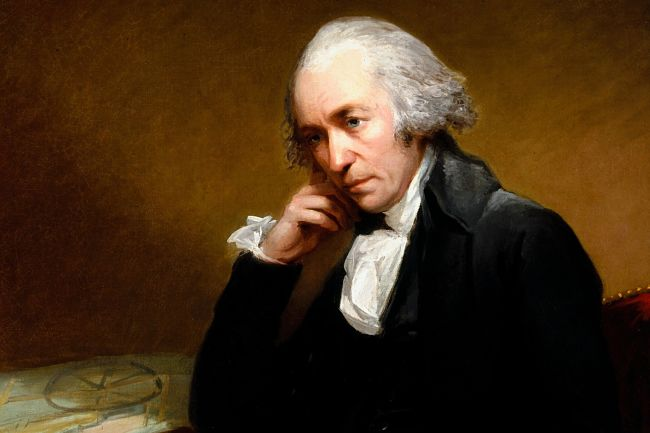 James Watt vynalezl parní stroj a započal průmyslovou revoluci
