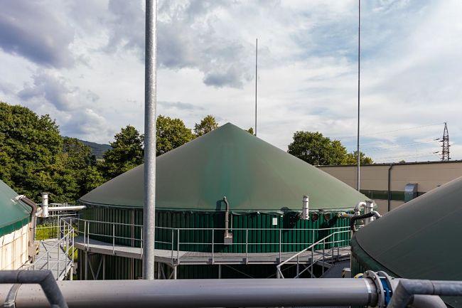 Výroba bioplynu Rapotín