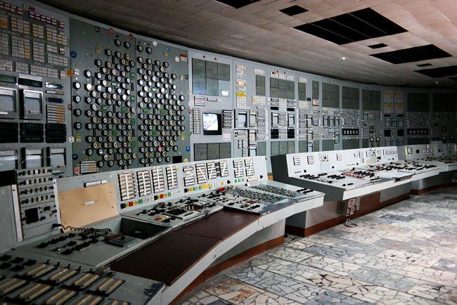 Černobyl: Kontrolní místnost