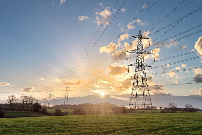 Distribuční soustava elektřina