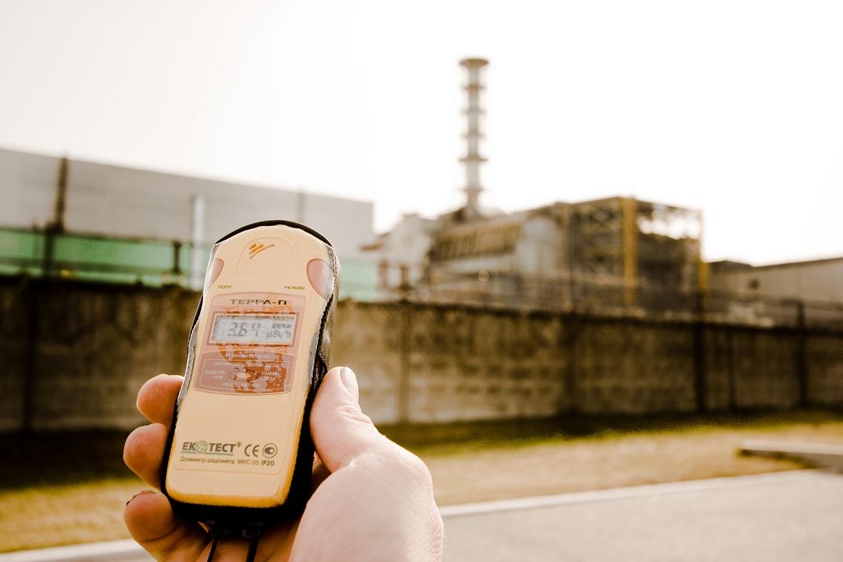 V samotném Černobylu vám většinou dozimetr půjčí