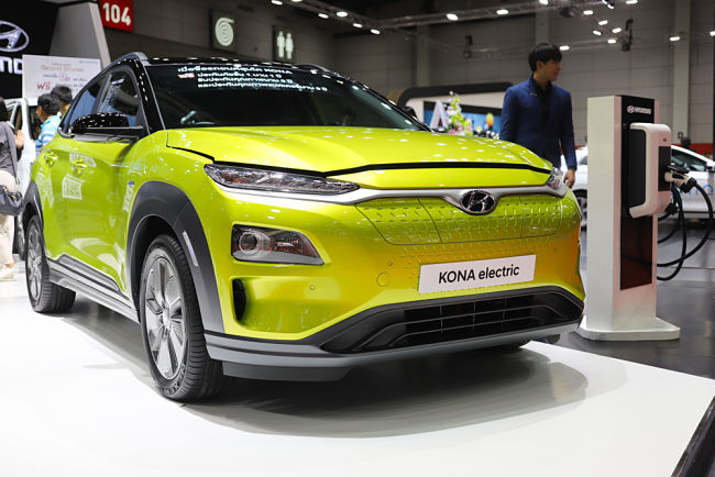 Hyundai model Kona Electric