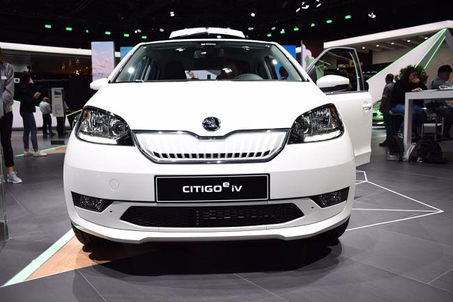 Běžným automobilům vévodí Škoda Citigo iV