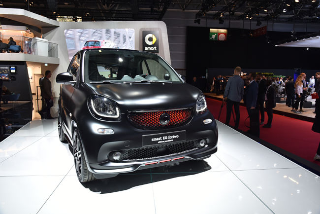 Elektromobil Smart EQ Fortwo