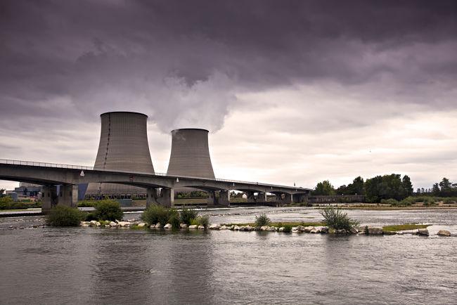 Jaderná elektrárna ve Francii.