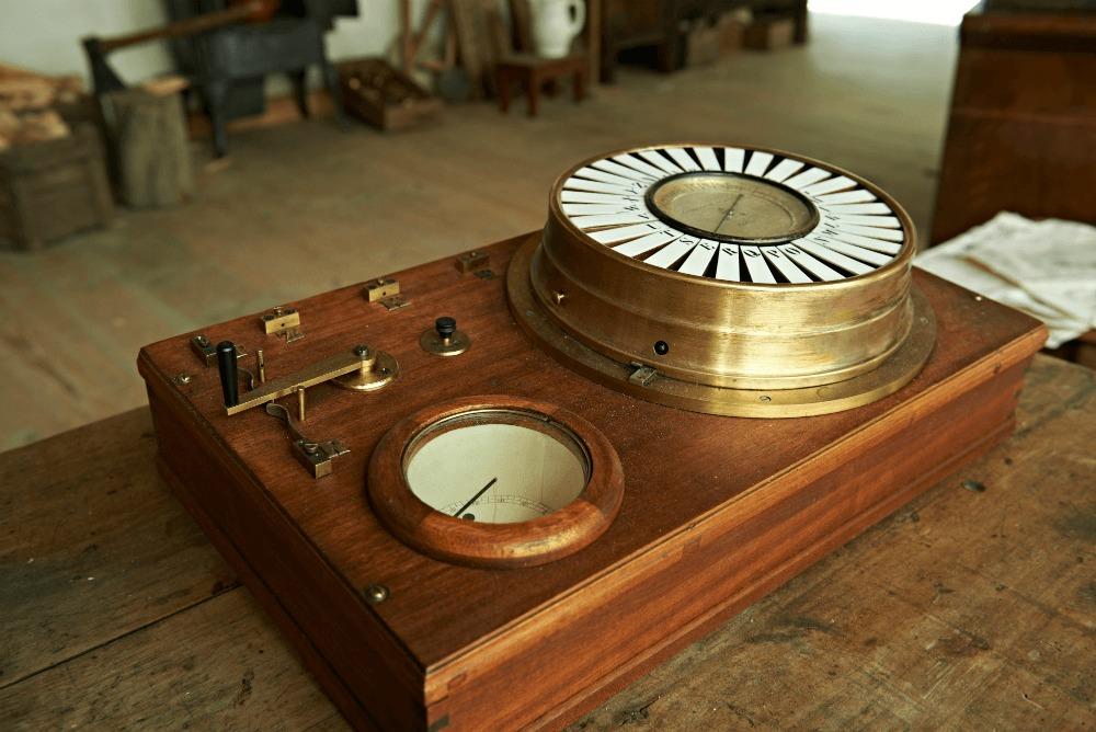 Prototyp prvního jehličkového telegrafu
