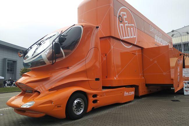 Aerodynamický nákladní vůz z dílny L. Colaniho.