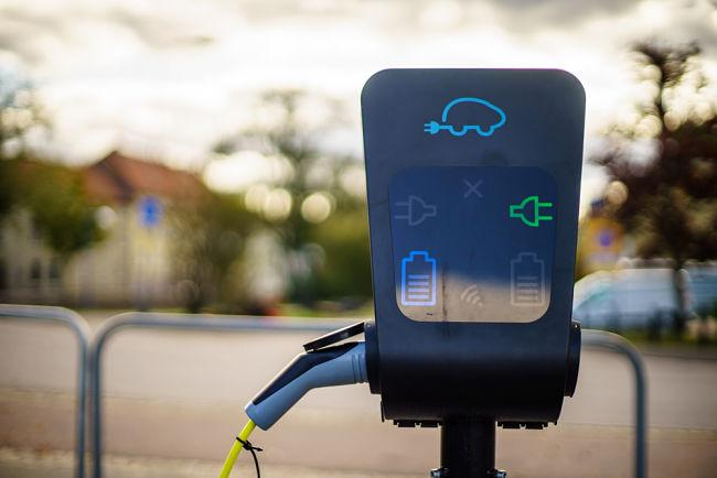 Nabíječka elektromobilů ve Švédsku