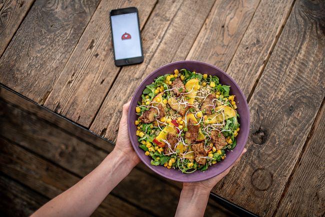 mobilní aplikace na záchranu jídla Nesnězeno