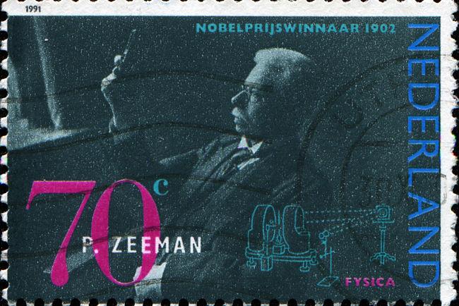 Zeeman na známce