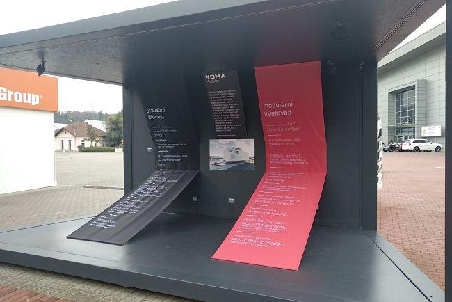 Stánek společnosti KOMA na MSV 2019.