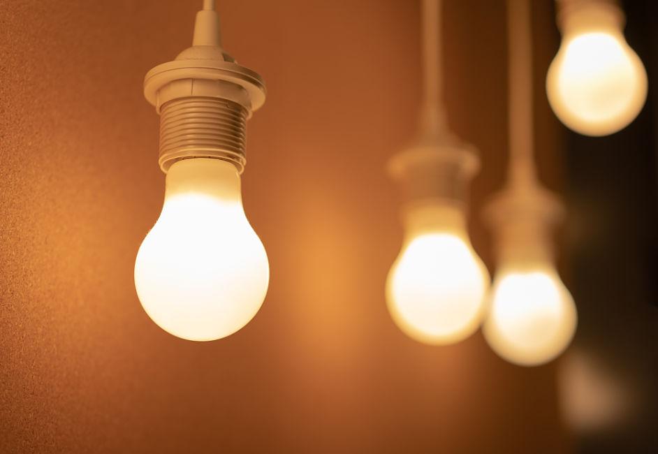 Světelný smog: Světlo žárovky s teplými žlutými podtóny