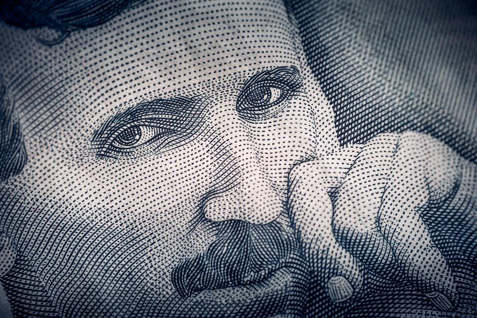 Nikola Tesla se nachází na srbském dináru
