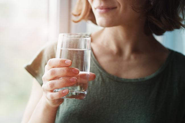 Voda ze studny může posloužit i k pití.