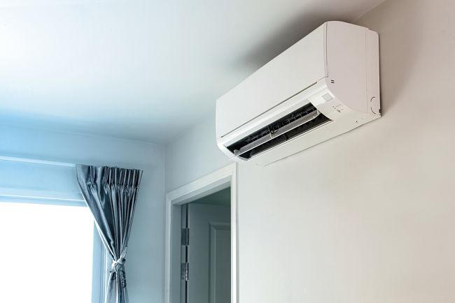 Nástěnná klimatizace.