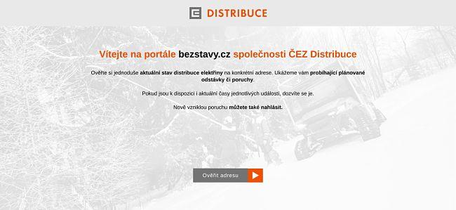 Informační web www.bezstavy.cz