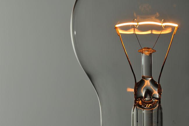 Klasická žárovka byla velmi oblíbená pro své příjemné světlo.