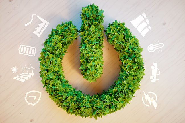 Cenu energií ovlivňuje také přechod k obnovitelným zdrojům.