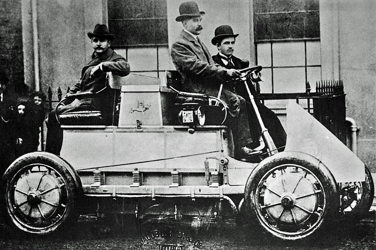První elektromobil Porsche Lohner