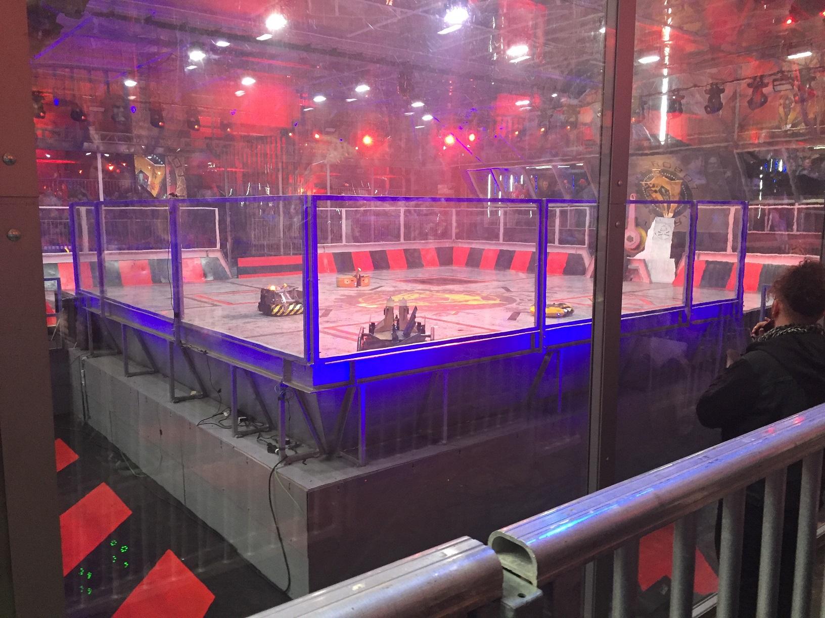 Aréna pro boje robotů