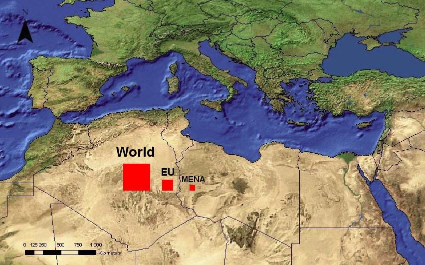 Mapa Sahary