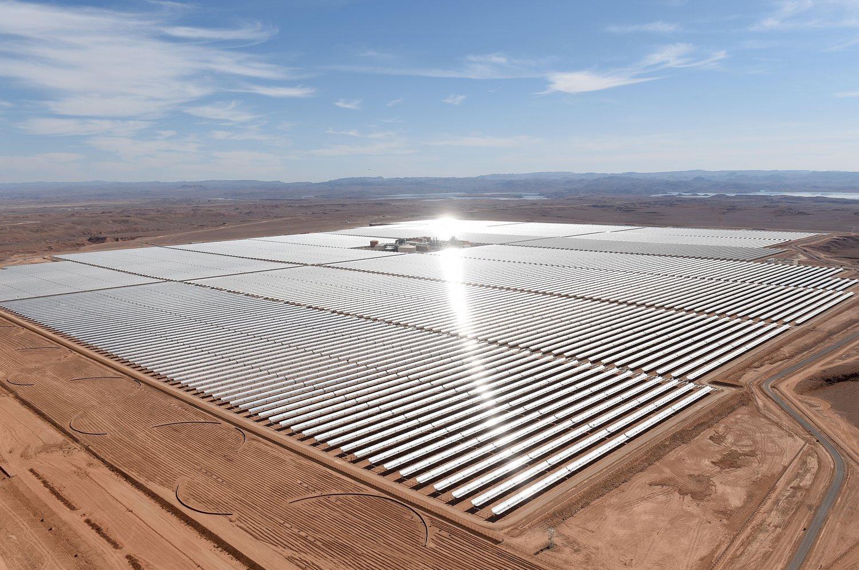 Solární park na Sahaře