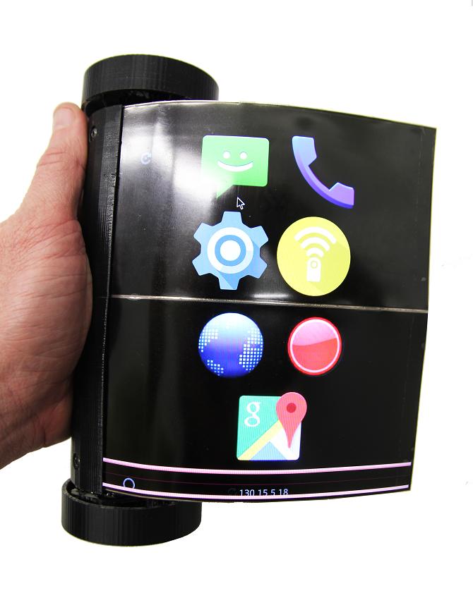 scrollovací tablet