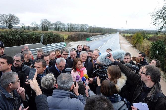 Francouzská ministryně pro životní prostředí a energetiku Ségolène Royal.