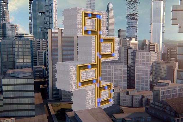 Výtah MULTI by mohl přinést revoluci v architektuře. Zdroj: ThyssenKrupp