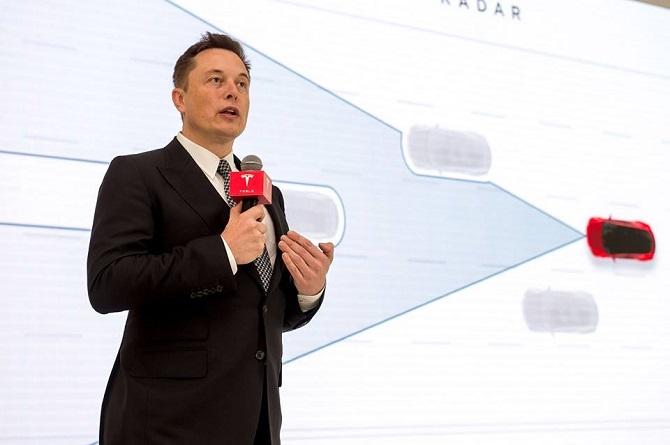 Šéf Tesla Motors Elon Musk.