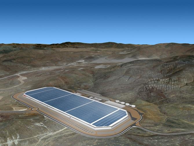 Takto by měla továrna vypadat po kompletním dokončení.