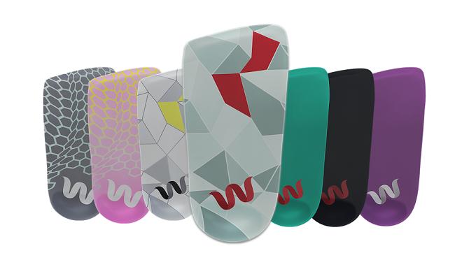 Stélky Wiivv jsou dostupné v několika barevných provedeních.