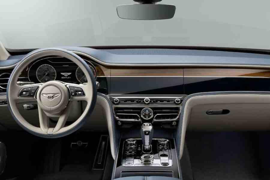 Interiér nového typu Bentley bude v luxusním provedení.