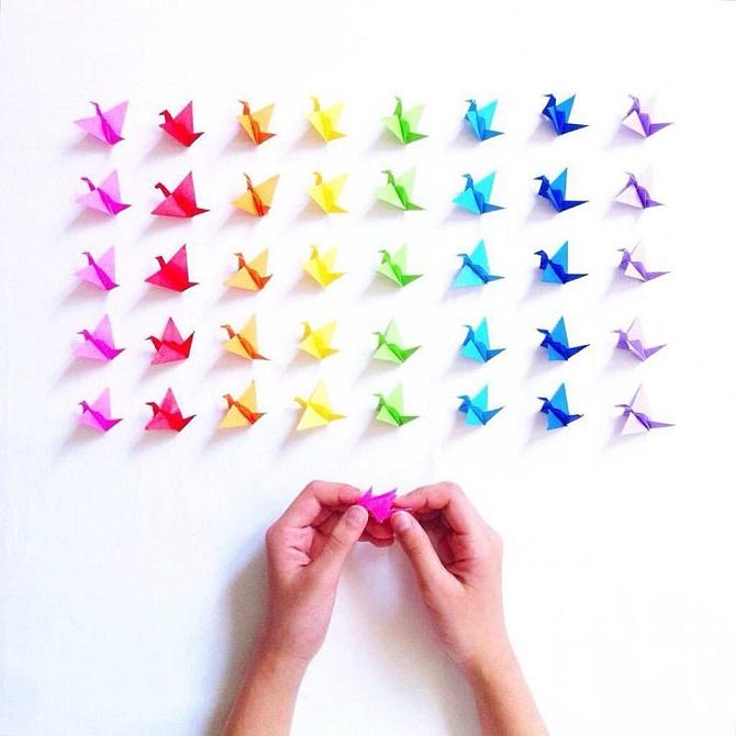 Ruce můžete využít třeba ke skládání origami. Nebo k inovativní biometrické platbě s Keyo.