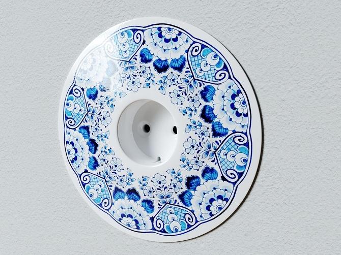 Porcelánová zásuvka
