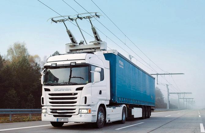 Hlavním cílem projektu eHighway je snížení emisí.