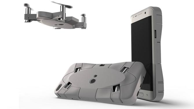 Selfie dron dokáže vytvořit fotky z neobvyklých úhlů.