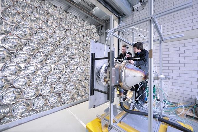 Systém slouží k testování budoucnosti solární energie.